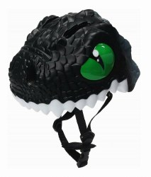 Animiles - 3D Helmet Kids - Black Dragon