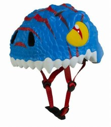 Animiles - 3D Helmet Kids - Bue Dragon