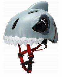 Animiles - 3D Helmet Kids - Grey Shark