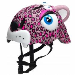 Animiles - 3D Helmet Kids - Pink Leopard