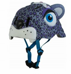 Animiles - 3D Helmet Kids - Purple Leopard