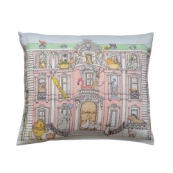 Atelier Choux Paris - Organic Cotton Cushion - Monceau Mansion