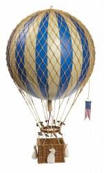 N L - Air Hot Balloon Large - Blue