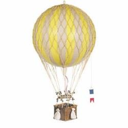 N L - Air Hot Balloon Large - Yellow