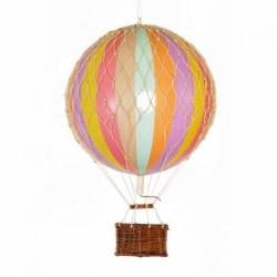 N L - Air Hot Balloon Medium - Rainbow Pastel