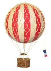N L - Air Hot Balloon Medium - True Red