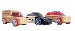 Automoblox - Mini Rescue Vehicles 3-Pack