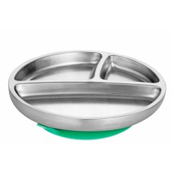 Avanchy - Stainless Steel Suction Plate - Green