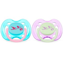 Avent - Free Flow Pacifier 0-6 Birds