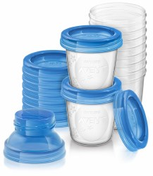 Avent - Breast Milk Storage Cups