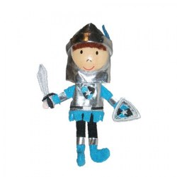Fiesta - Finger Puppet - Blue Knight