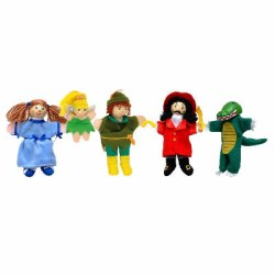 Fiesta - Finger Puppet Set 5 - Peter Pan