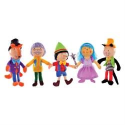 Fiesta - Finger Puppet Set 5 - Pinocchio