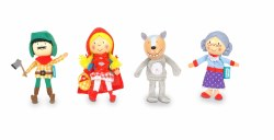 Fiesta - Finger Puppet Set 4 - Red Riding Hood