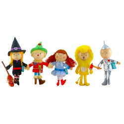 Fiesta - Finger Puppet Set 5 - Wizard of Oz