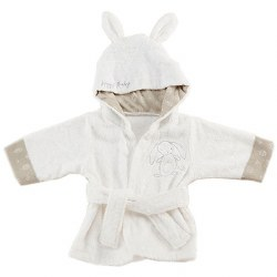 Baby Aspen - Bath Robe - Natural Bunny