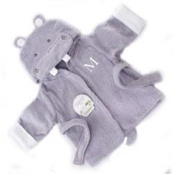 Baby Aspen - Bath Robe - Hippo
