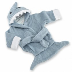 Baby Aspen - Bath Robe - Shark
