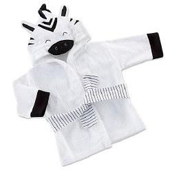 Baby Aspen - Bath Robe - Zebra