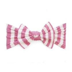 N L - Pattern Headband Knot - Hot Pink Stripes