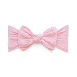 N L - Pattern Headband Knot - Pink Polka Dot