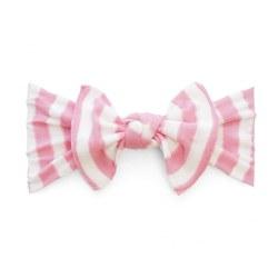 N L - Pattern Headband Knot - Pink Stripes