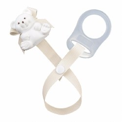 Baby Buddy - Paci Holder Teddy Bear - Sky Brown
