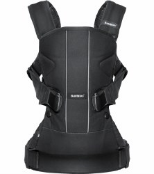 Baby Bjorn - Carrier One - Black Cotton Mix