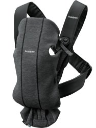 Baby Bjorn - Carrier Mini 3D - Jersey Charcoal Grey