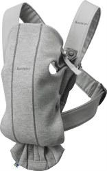 Baby Bjorn - Carrier Mini 3D - Jersey Light Grey