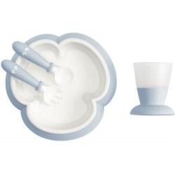 Baby Bjorn - Feeding Set - Powder Blue