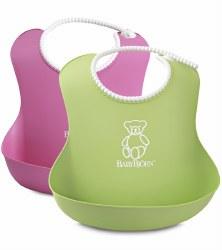 Baby Bjorn - Bib Set - Pink & Green