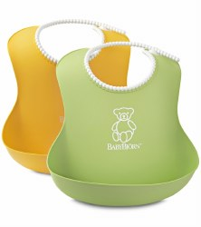 Baby Bjorn - Bib Set - Green & Yellow