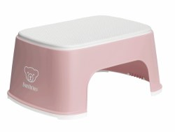 Baby Bjorn - Step Stool - Powder Pink/White