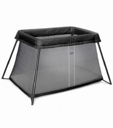 Baby Bjorn - Travel Crib Light - Black Mesh