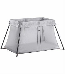 Baby Bjorn - Travel Crib Light - Silver Mesh