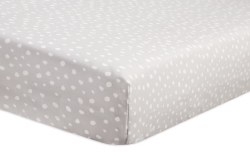 Babyletto - Crib Sheet - Grey Dots