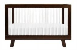 Babyletto - Hudson 3-In-1 Convertible Crib - Espresso/White