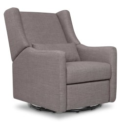 Babyletto - Kiwi Electronic Recliner and Swivel Glider with USB Port - Grey Tweed