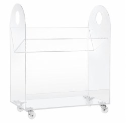 Babyletto - Presto Acrylic Bookcase and Cart