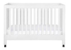 Babyletto - Maki Full-Size Portable Folding Crib - White *Backorder Until Mid-February*
