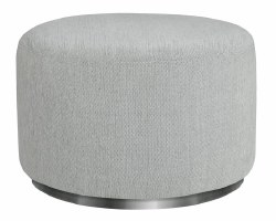 Babyletto - Tuba Swivel Gliding Ottoman Winter Grey Weave