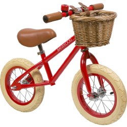 Banwood - First Go Kids Balance Bike - Red