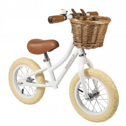 Banwood - First Go Kids Balance Bike - White
