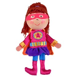 Fiesta - Finger Puppet - Girl Hero