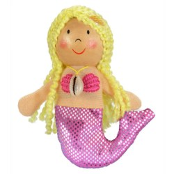 Fiesta - Finger Puppet - Mermaid