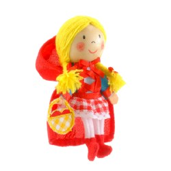 Fiesta - Finger Puppet - Red Riding Hood
