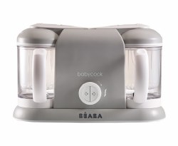 Beaba - Babycook Plus Baby Food Blender and Steamer - Cloud