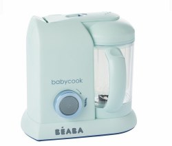 Beaba - Babycook Pro Baby Food Blender and Steamer - Limited Edition Aquamarine