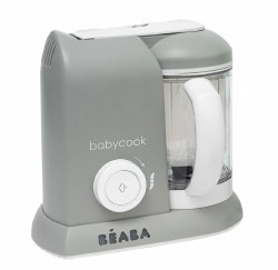 Beaba - Babycook Pro Baby Food Blender and Steamer - Cloud